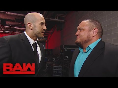 Samoa Joe and Cesaro reignite their rivalry: Raw, Feb. 27, 2017