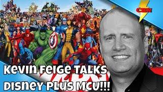 Kevin Feige Disney Plus MCU Update -Wandavision!!