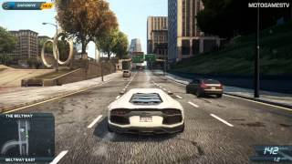 Need for Speed Most Wanted 2012 - Lamborghini Aventador Gameplay