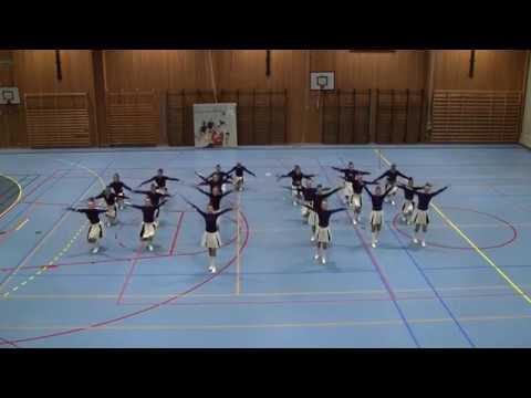 NVSFJ2017 - Florø Drill - Traditional Majorettes Corps Junior