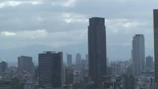 北浜タワー 209mまで到達です^^