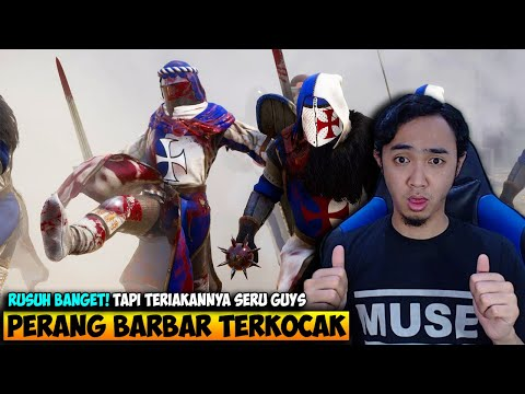 PERANG JAHILIYAH BARBAR BANGET TAPI KOCAK PARAH MORDHAU INDONESIA 5 - 동영상