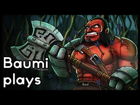 Dota 2 | CURSE OF THE MAN!! | Baumi plays Axe