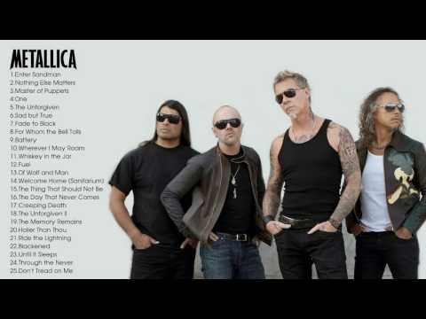 Best of Metallica Greatest Hits Full Album