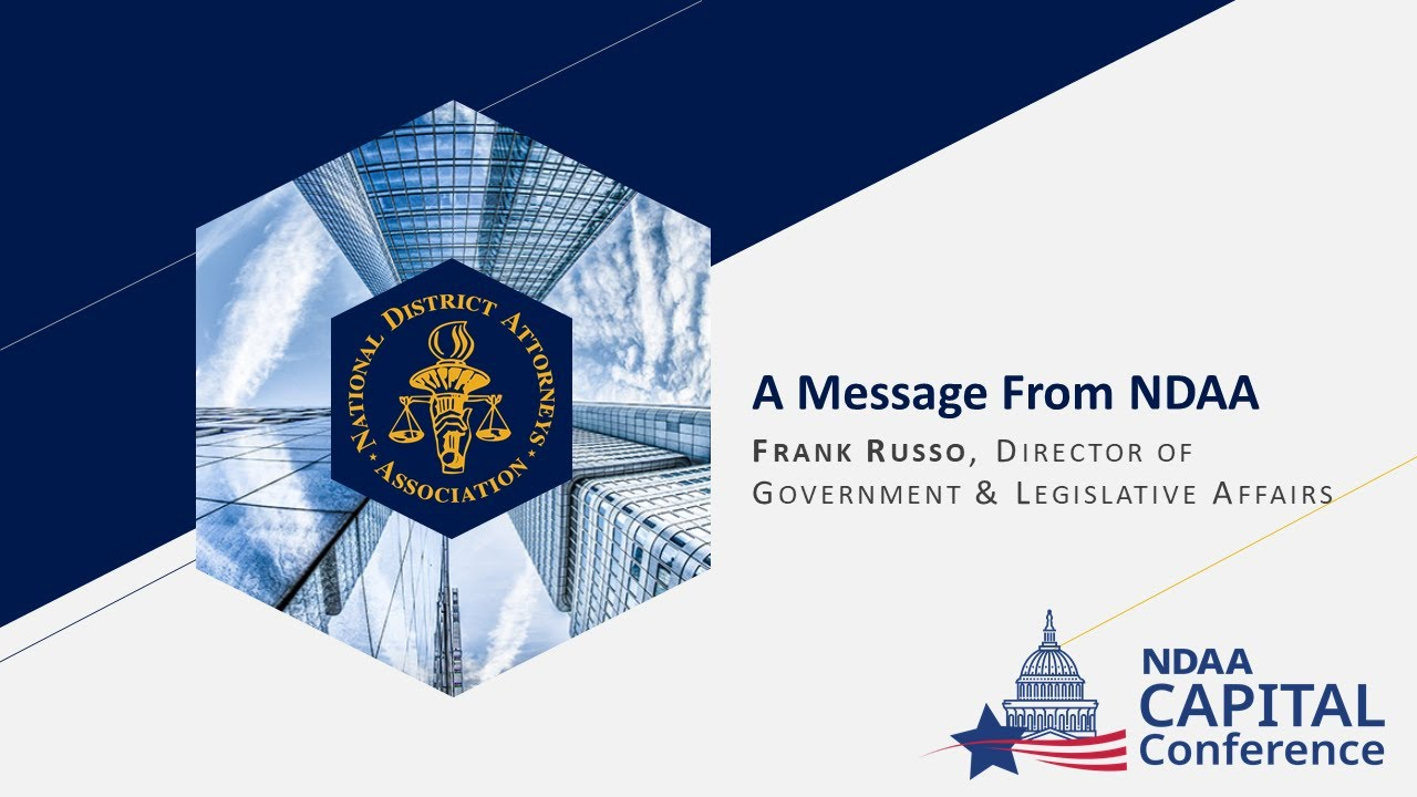Download 2021 Virtual Capital Conference (A Message From NDAA)
