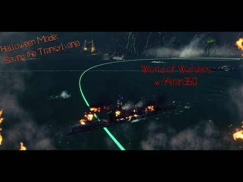 World of Warships |Nope, no fires here| Halloween Mode