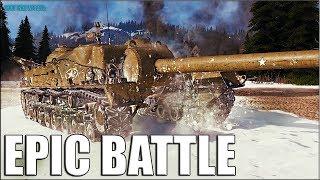 T28 НАГИБ на американской пт-сау 8 уровня World of Tanks