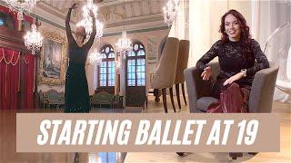 Starting Ballet late at 19  Ballet Dancer Annie Glaudane  swiftleigh media