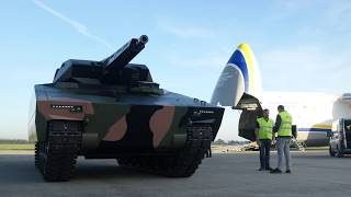 Dny NATO 2018 - vykládka Lynx