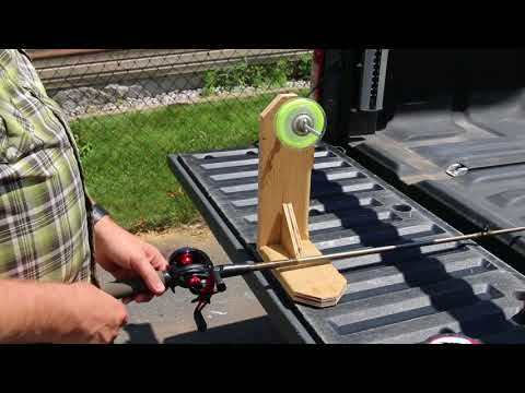 How To: DIY Fishing Line Spooler Under $10
