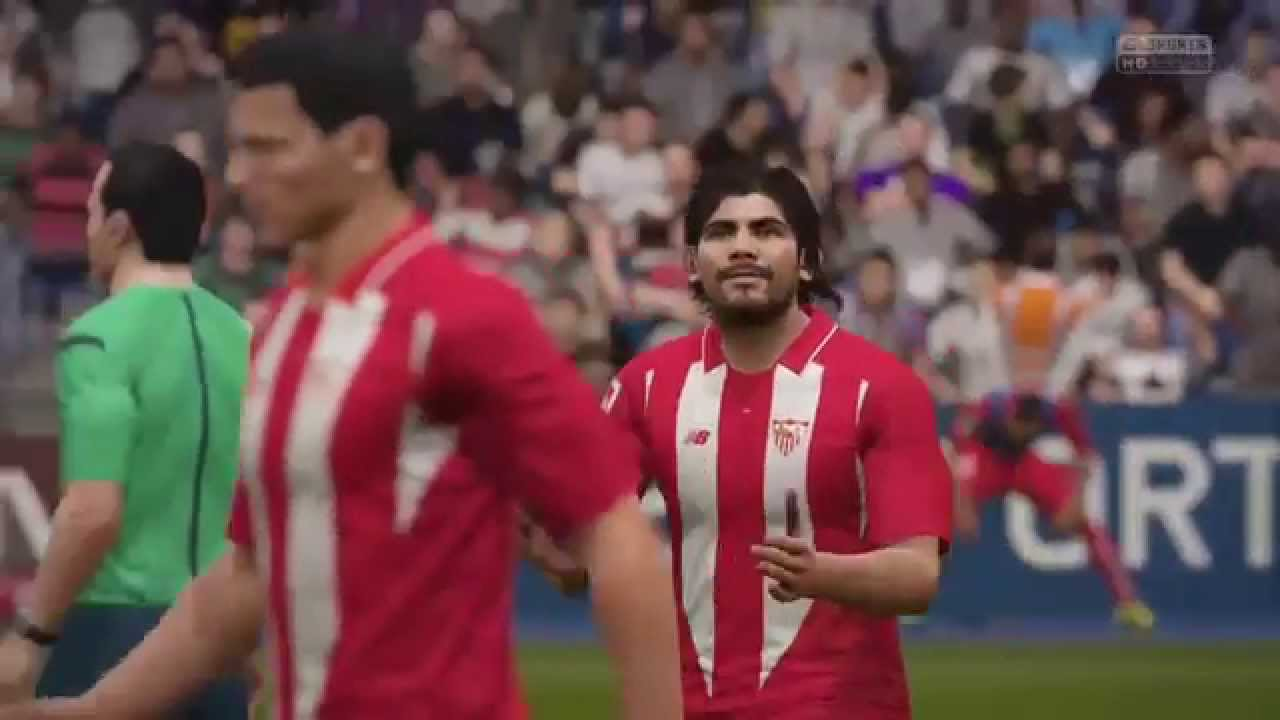 Sevilla FC Ever Banega bicycle kick goal [FIFA16]
