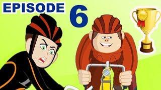 Wer wird das Super-Rennen gewinnen? | Zeichentrickfilme für Kinder | Videos für Kinder
