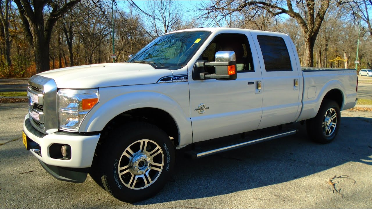 2016 Ford F250 >> 2016 Ford F 250 Platinum Review