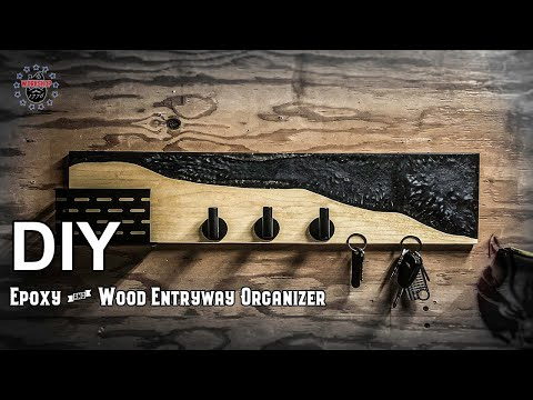 How to Make an Epoxy Entry Organizer, With Magnets!!!