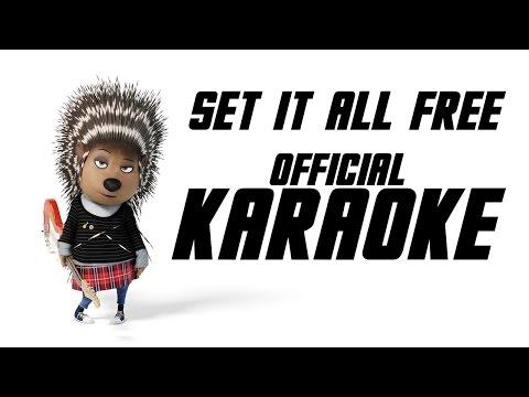 Set it all Free KARAOKE VERSION [HD] Sing - Lyrics on Screen Scarlett Johannson