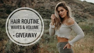 My 5 MINUTE Everyday Hair Routine + Tips