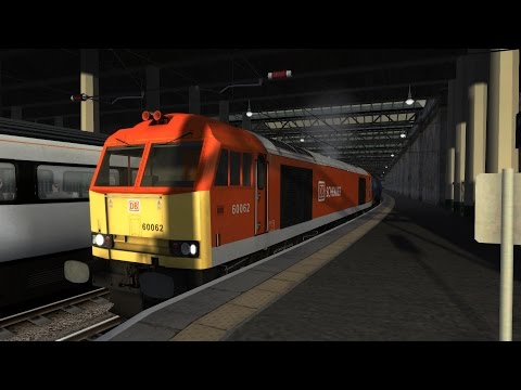Train Simulator 2017: Edinburgh to Glasgow Oil Class 60 DB Schenker HD
