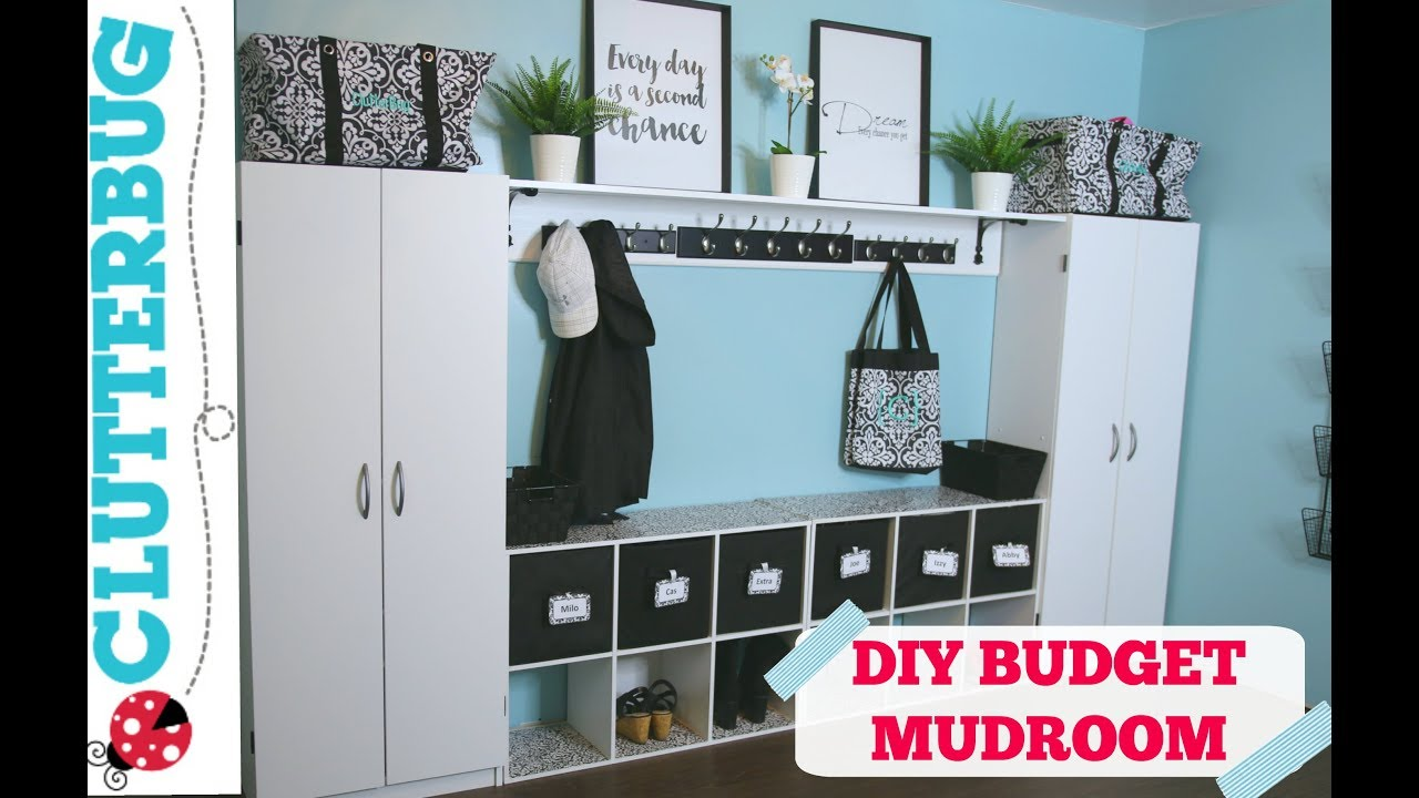 Create More Storage In Your Home On A Budget Diy Mudroom Ideas