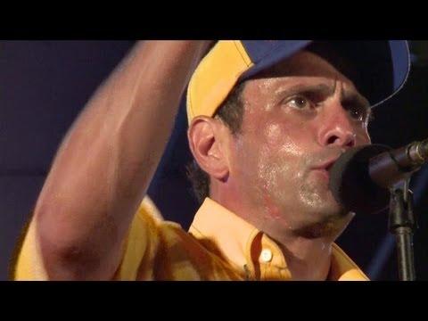 Capriles pide recuento de votos