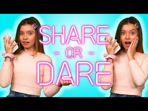 Sophie Michelle Shares What's In Her Phone  SHARE OR DARE