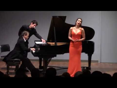"NADINE SIERRA sings ""Will there really be a Morning"" - Kamal Khan - Piano"