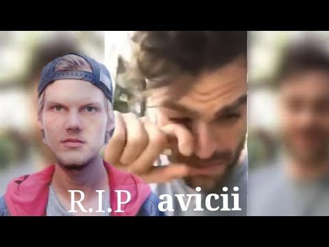 """Alex pall crying "" after the death of avicii death 20/apr/2018"