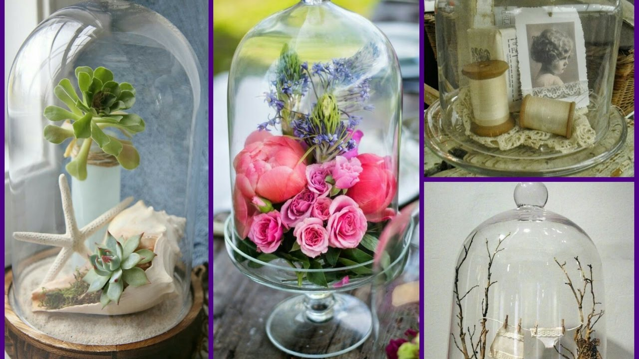 Decorating Ideas: Bell Jar Home Decor Ideas