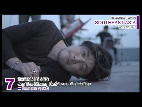 SOUTHEAST ASIA Top 10 (week 32 / 2015)