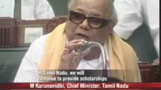 Karunanidhi bows down to Dalit demands