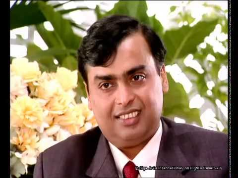 Rendezvous with Simi Garewal Mukesh & Neeta Ambani Part -1