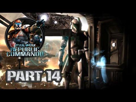 Star Wars Republic Commando (PC) HD: ARC Trooper Mod Walkthrough - Part 14: Kashyyyk #5 |