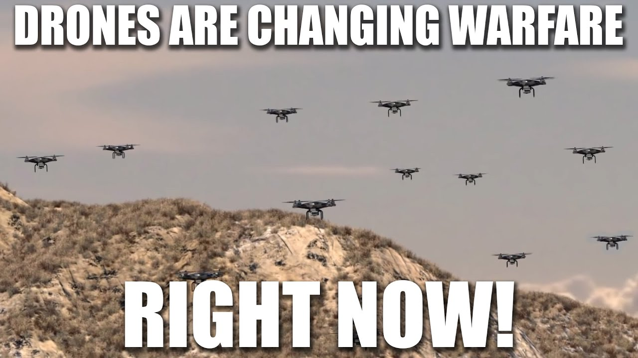How Drones are completely changing Warfare