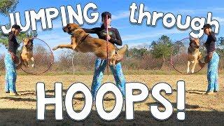 JUMPING through HOOPS!
