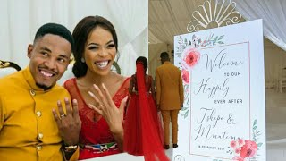 Mmatema Moremi's perfect wedding.