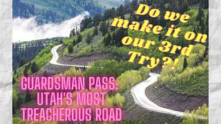 Guardsman Pass Road: Cąn we conquer this wild drive? RV HOST Truck Camper RAM 5500 Overland 4X4 VLOG