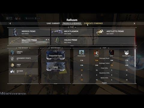 how to build arsenal in dojo warframe 2018