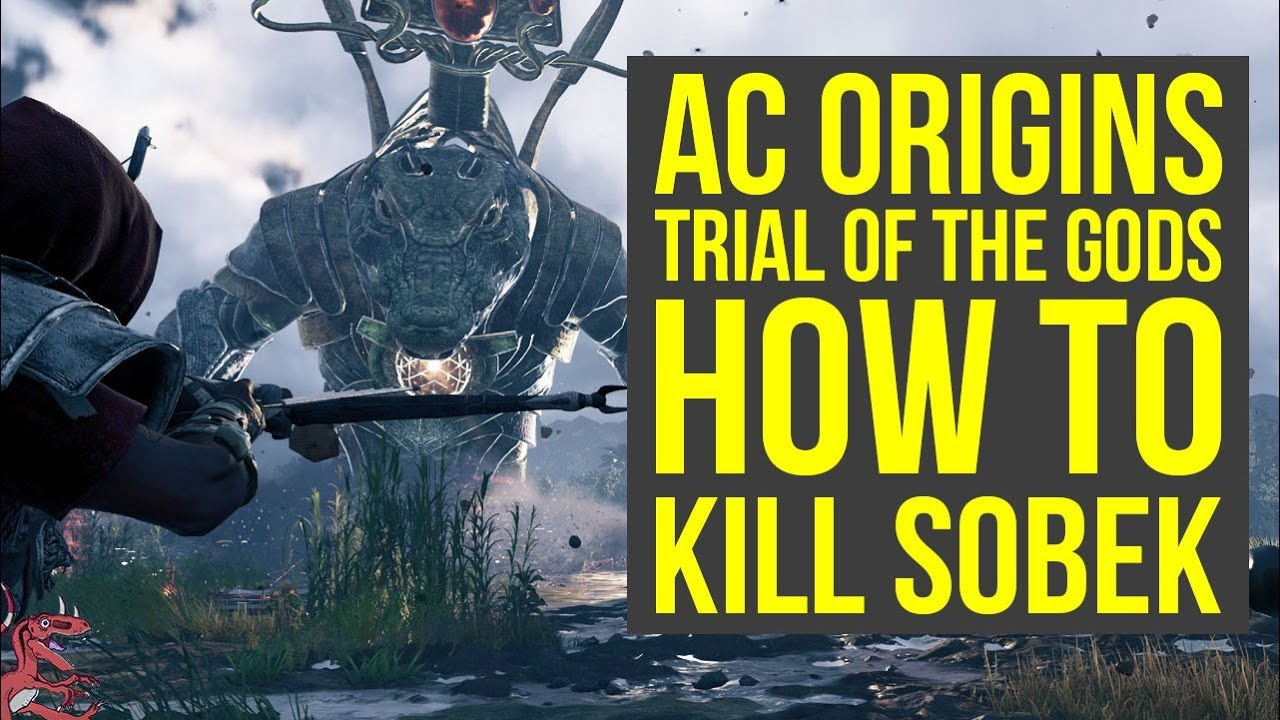 Slay Sobek in Assassin's Creed Origins' second Trial of the Gods