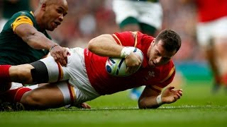 Gareth Davies | Welsh Dragon on fire