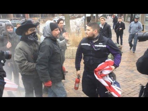 street-fight-breaks-out-over-flag-burning
