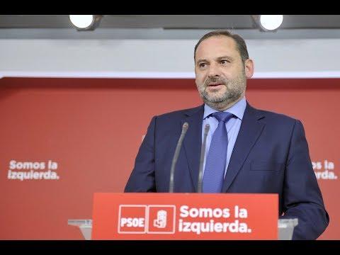 El PSOE pide al govern que desconvoque el 1 de octubre y que abra la vía del diálogo