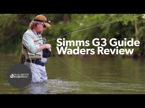 Simms G3 Guide Stockingfoot Waders: Review
