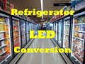 Retail Refrigerator Case LED Conversion For Grocery Convenience Gas Station Freezer Cooler Retrofit
