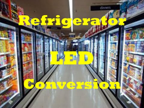 Retail Refrigerator Case LED Conversion For Grocery Convenience Gas Station Freezer Cooler Retrofit & Retail Refrigerator Case LED Conversion For Grocery Convenience Gas ...