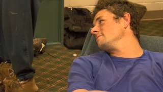 Baseball Clubhouse: Curtis Goodwin's Dog Slippers (606)