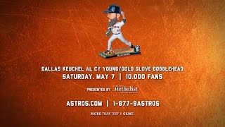 come get your keuchel cy young gold glove bobblehead