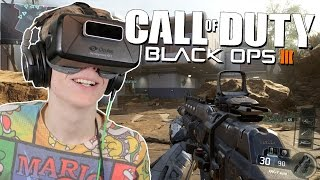 WALL RUNNING IN VR! | Call of Duty: Black Ops 3 (Oculus Rift DK2)