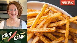 Swimming in Hot Oil–No Fear Frying   Test Kitchen Boot Camp