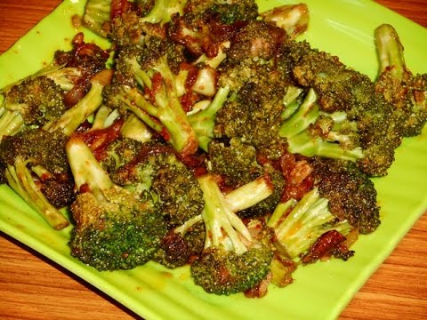 Broccoli Stir Fry - Indian Style Broccoli Recipe.