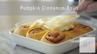 Pumpkin Cinnamon Rolls | Byron Talbott