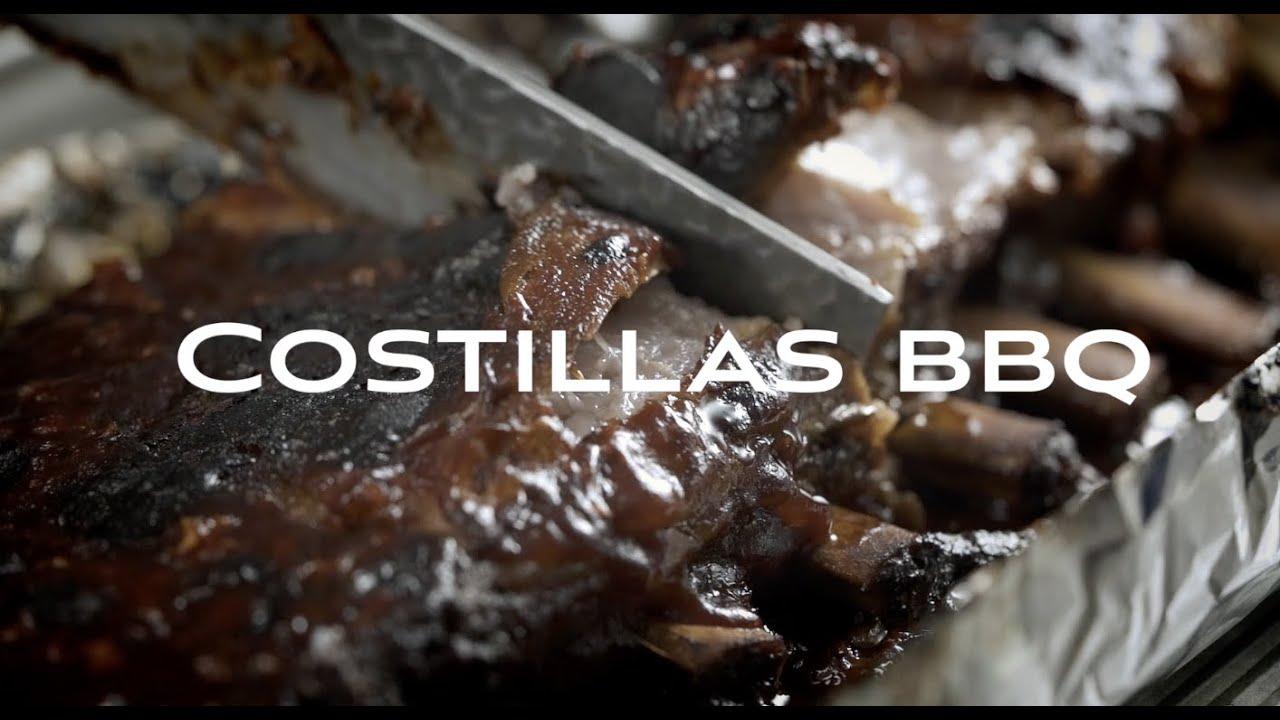 COSTILLAS BBQ Y SALSA BBQ Chef Rafael Costa Rica